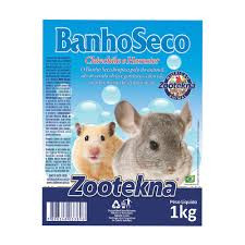 BANHO SECO PARA ROEDORES ZOOTEKNA 1KG